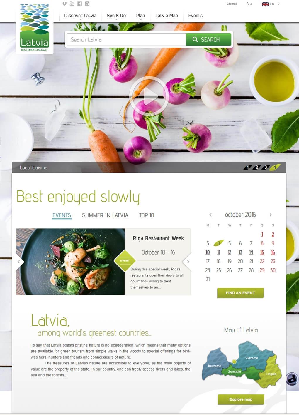 Latvia travel mājas lapa